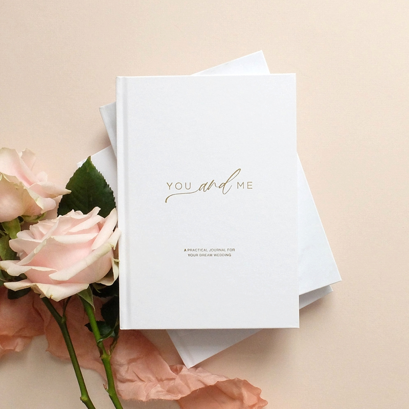 Gorgeous gender neutral wedding planning journal for all couples