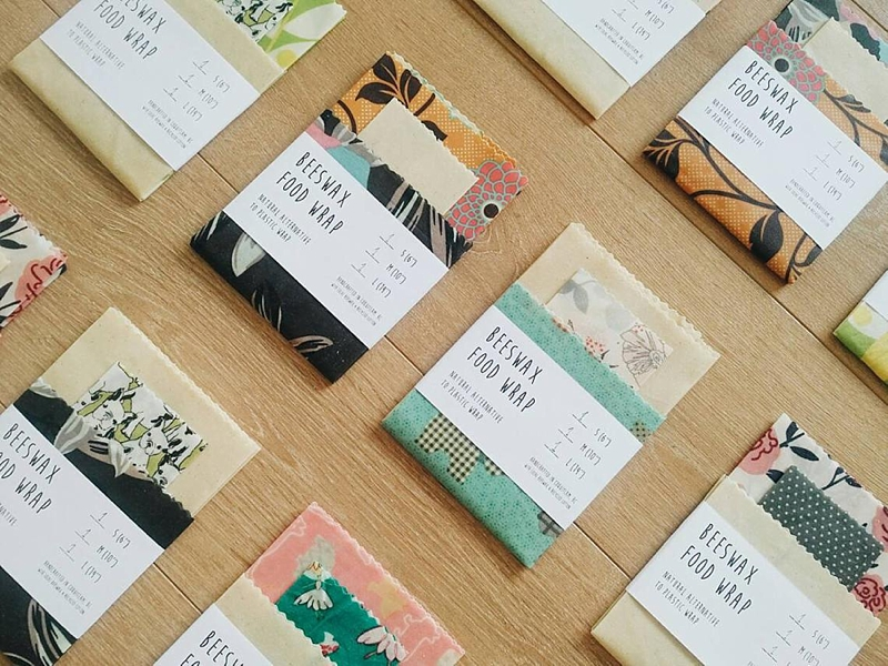 Ecofriendly reusable beeswax food wraps for the budget and earth savvy gift ideas