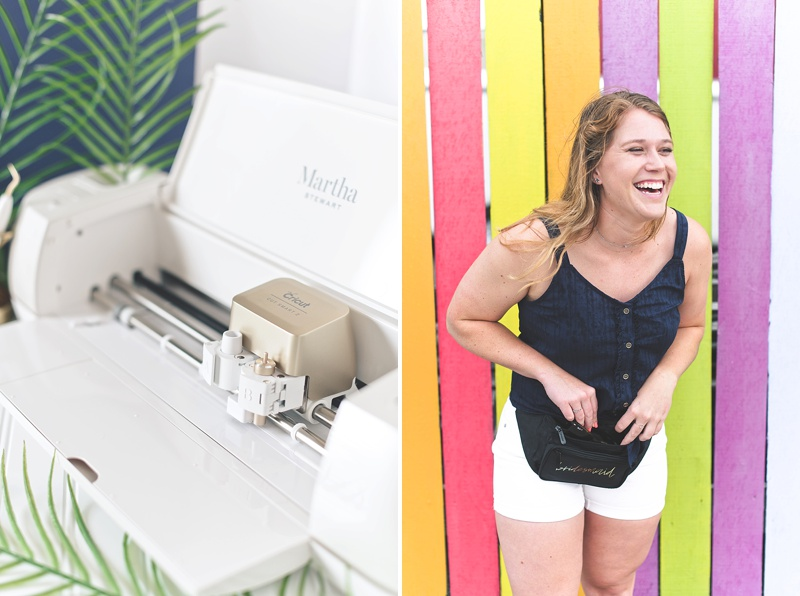 How to customize a nylon fanny pack with Cricut EasyPress 2 and Explore Air 2 machines