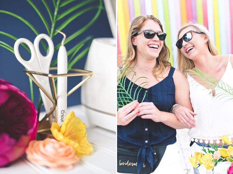Modern festival inspired fanny packs for summer bachelorette party