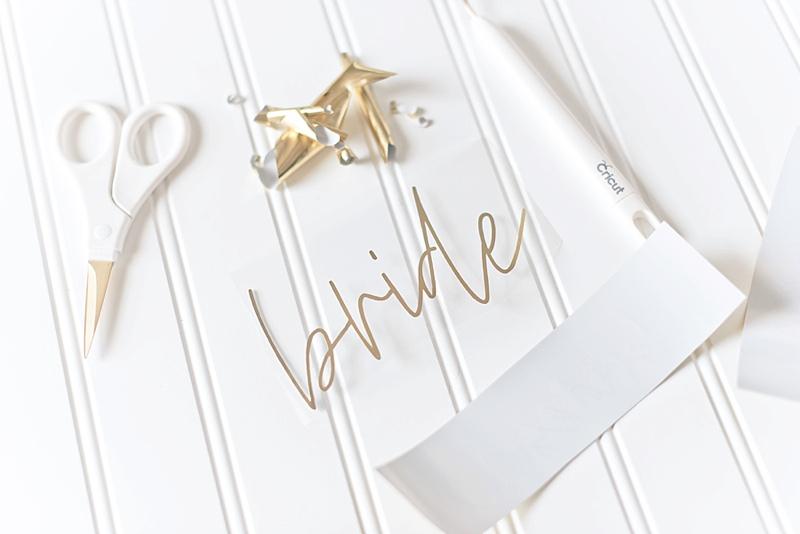 Martha Stewart Mixed Materials Gala Rose wedding bundle for custom bachelorette fanny packs