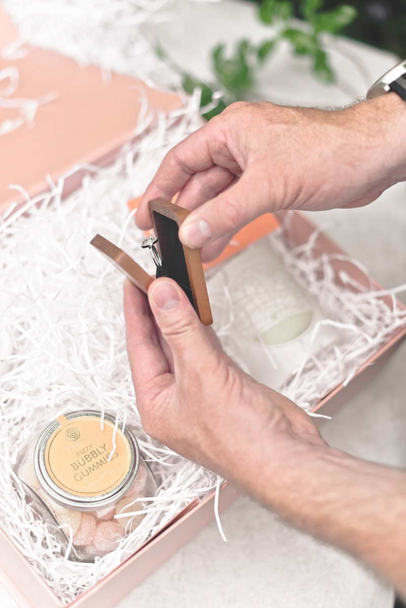 How to propose to your girlfriend or boyfriend with a unique Woodsbury engagement ring box