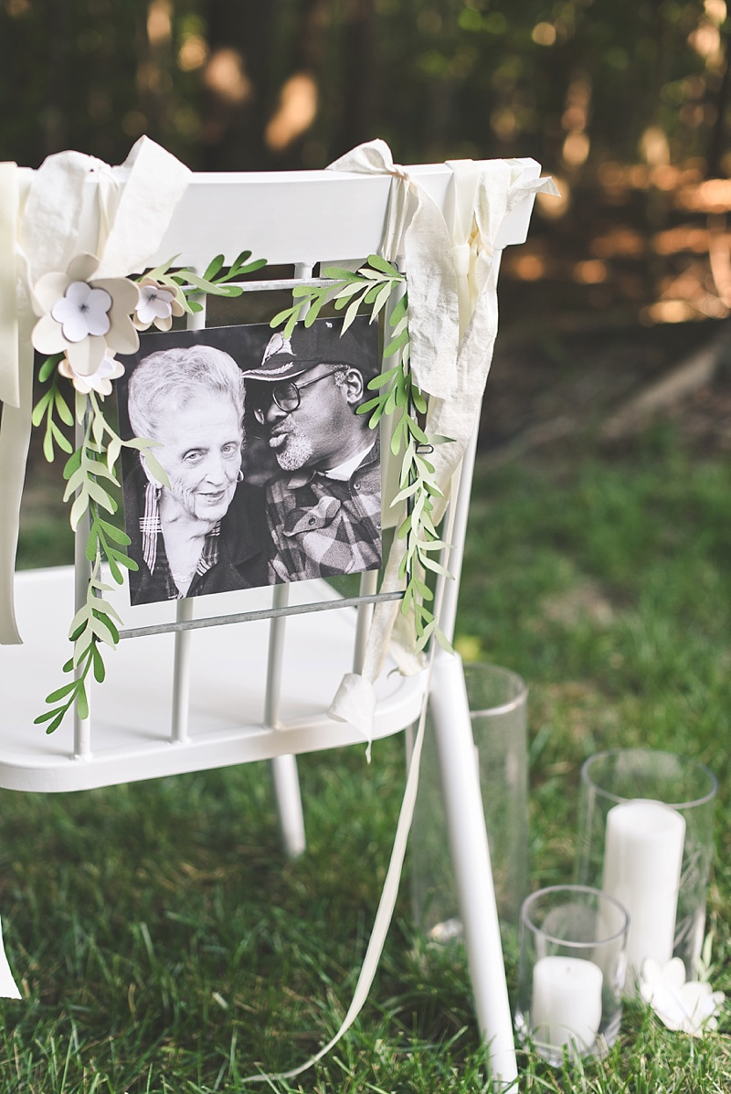 Special way to remember lost loved ones at your wedding using your Cricut machine