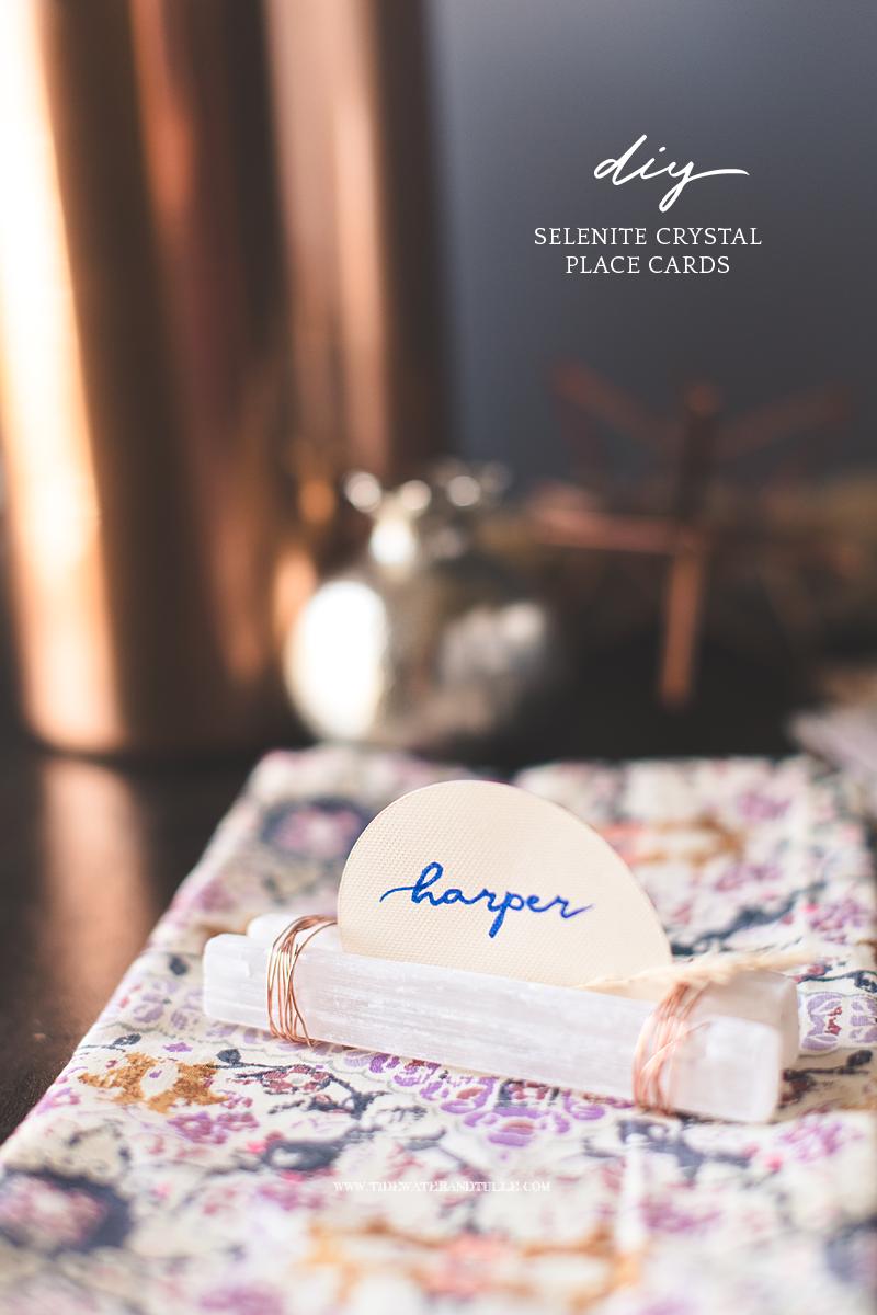 How to make simple DIY boho wedding place cards using your Cricut