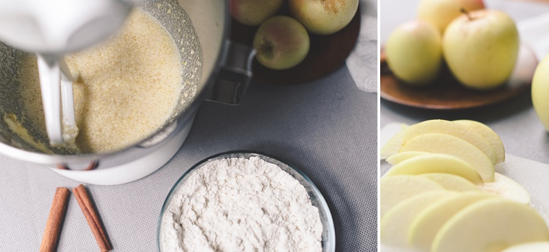 How to make gluten free apple cider cake with local Virginia apples