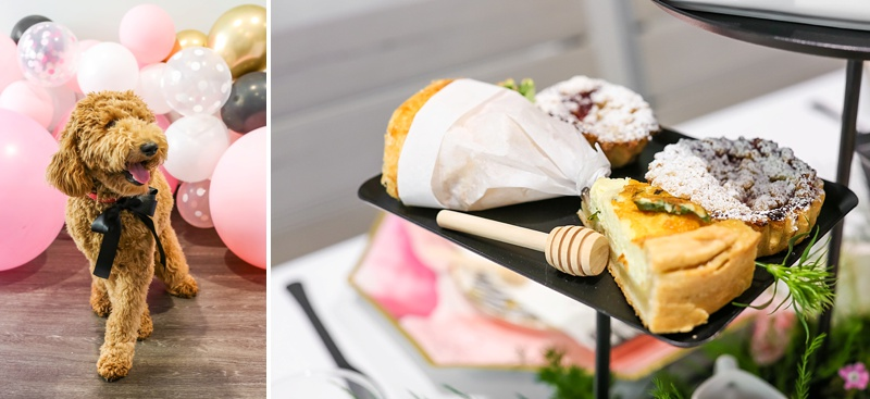 Chic bridal shower ideas at Macaron Tart in Town Center of Virginia Beach