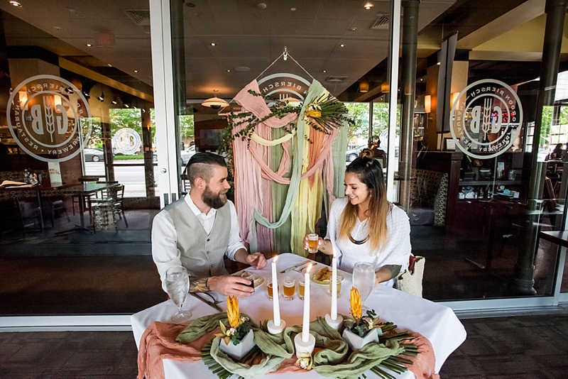 Fun beer inspired wedding proposal ideas from Town Center of Virginia Beach