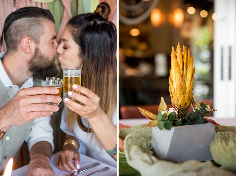 Fun and romantic beer inspired wedding proposal ideas from Town Center of Virginia Beach