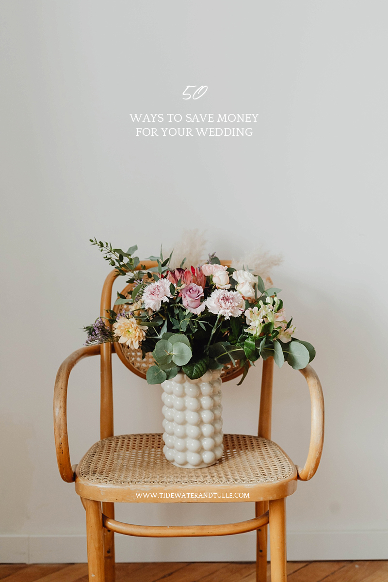 Best ways to save money for your wedding