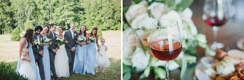 Classic rustic wedding at New Kent Winery in Virginia