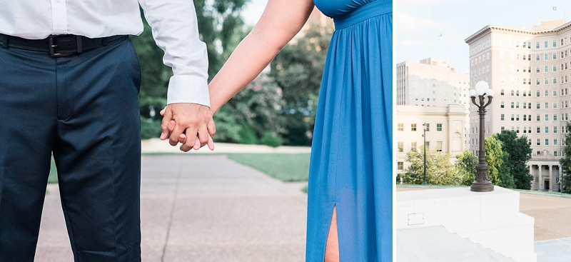 Simple and classic engagement session in Richmond Virginia