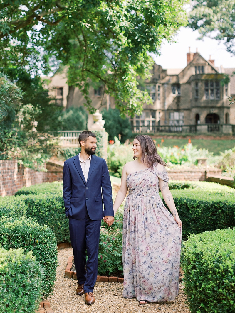 English house transported to Richmond Virginia for beautiful timeless portrait backdrops