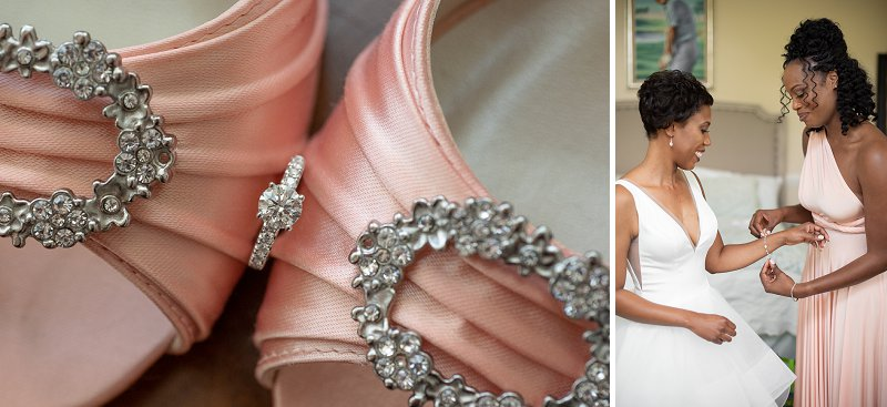 Glamorous wedding details for a classic Virginia wedding
