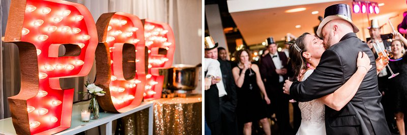 Classic New Years Eve wedding ideas from Richmond Virginia