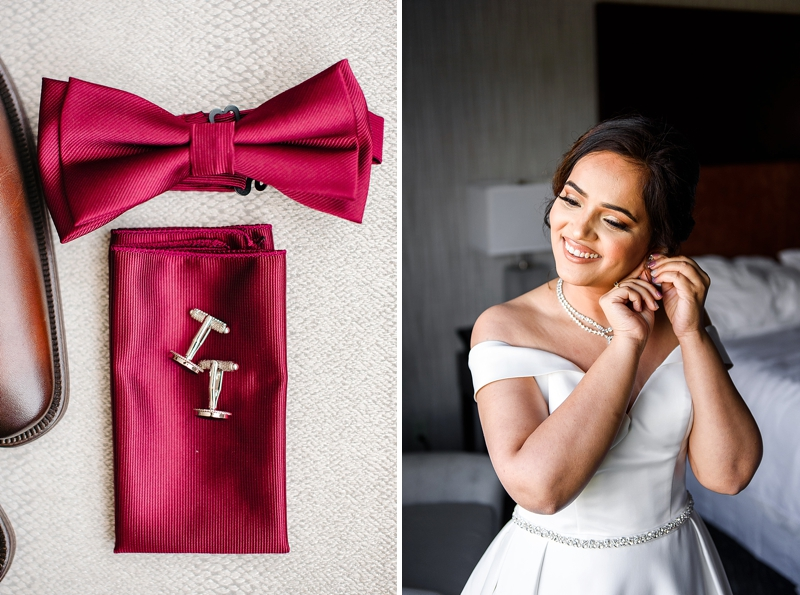 Simple wedding details for pandemic affected wedding in Richmond Virginia