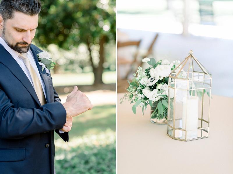 Modern classic elegant coronavirus wedding ideas at Seven Springs in Richmond Virginia