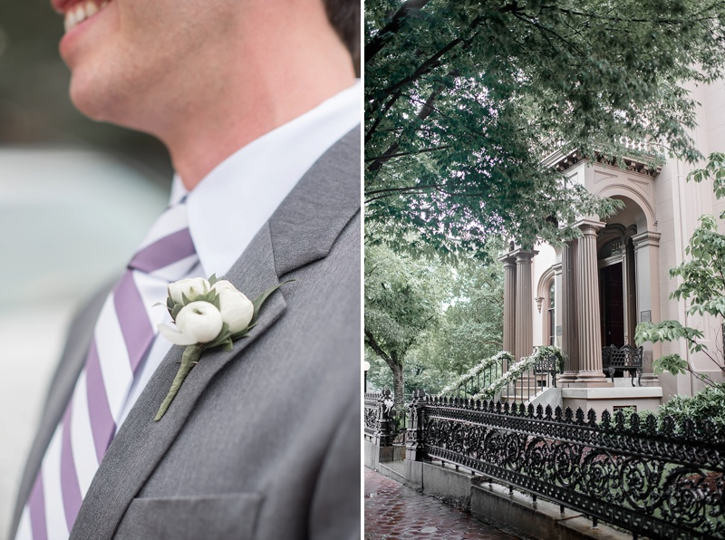Purple and white Jewish wedding ideas