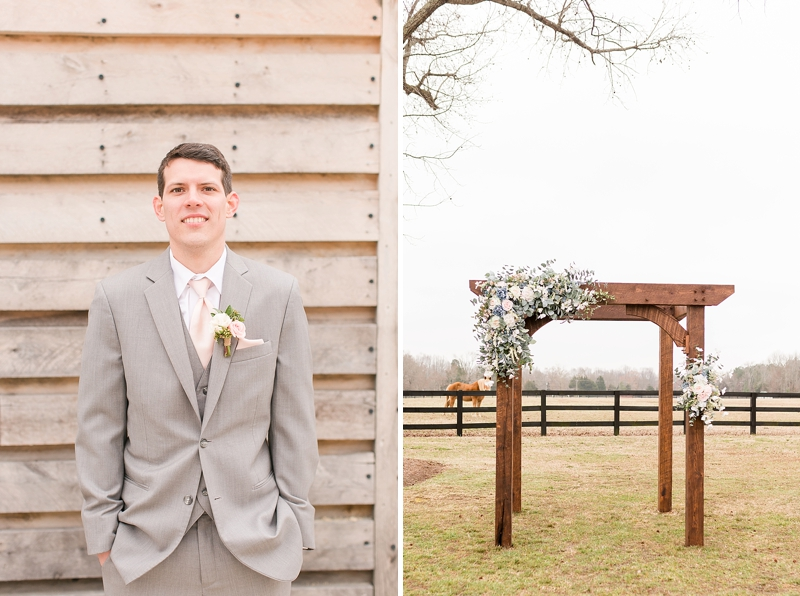 Rustic and elegant barn wedding at Alturia Farm in Virginia