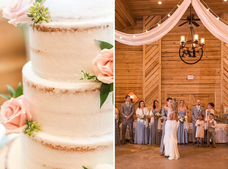 Elegant rustic barn wedding reception at Alturia Farm in Virginia