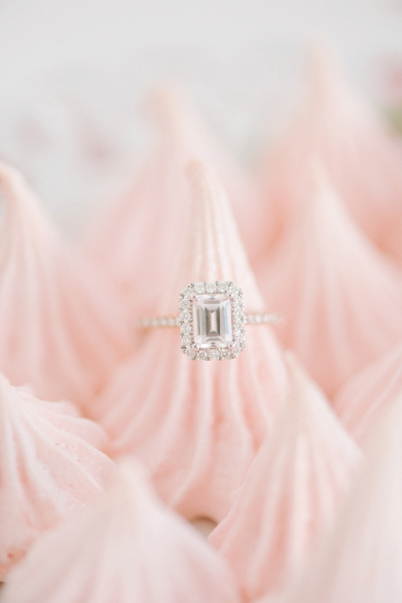 Gorgeous diamond engagement ring to be insured under home insurance