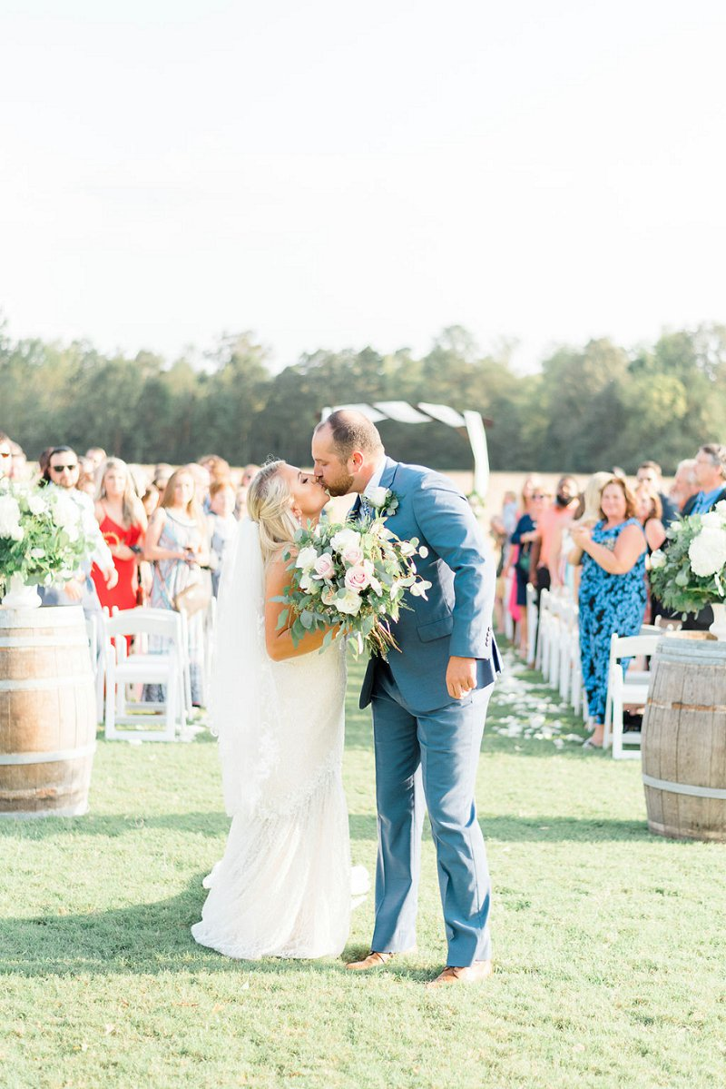 Beautiful classic rustic wedding at Burlington Plantation in Charles City Virginia